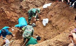 Miền Nam - Phát hiện hố chôn tập thể 36 hài cốt liệt sĩ hy sinh năm 1969