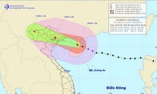 Sự kiện hàng ngày - Bão số 3 đã ảnh hưởng tới Quảng Ninh, gió giật cấp 7-9