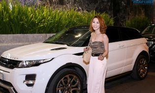 Ngôi Sao - Ngân Khánh diện áo sexy tự lái xế sang đi sinh nhật Nam Cường