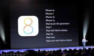 Sản phẩm số - iOS 8 chính thức phát hành