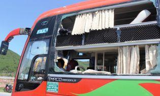 Miền Trung - Chiếc loa phát nổ trên xe khách, 3 người bị thương nặng