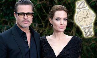 Ngôi Sao - Sốc đồng hồ 63 tỉ Angelina Jolie tặng chồng ngày cưới