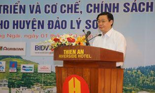 Sự kiện hàng ngày - Đến 2020, Lý Sơn mạnh về kinh tế, vững về quốc phòng - an ninh