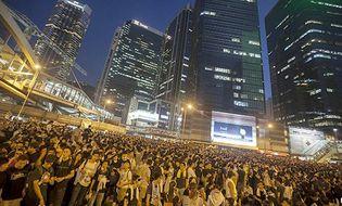 Tài chính - Ngân hàng - Biểu tình Hong Kong làm chao đảo tài chính toàn cầu