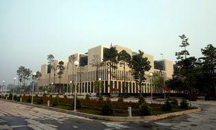 Sự kiện hàng ngày - Cận cảnh tòa nhà Quốc hội cực hiện đại