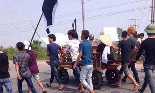 """Nghi án - Điều tra - """"Quan tài diễu phố"""" ở Quảng Ninh: Ai là người kích động?"""