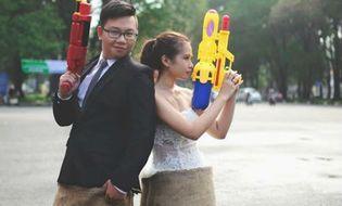 Giới trẻ - Những bộ ảnh cưới độc đáo, hài hước xem là muốn kết hôn