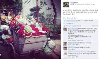 """Cộng đồng mạng - Bức ảnh """"bãi rác hoa"""" sau ngày 20/10 gây bão trên mạng xã hội"""