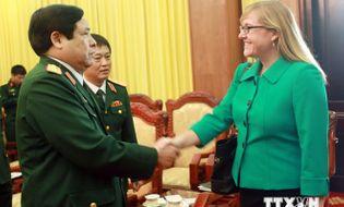 Sự kiện hàng ngày - Đối thoại Chính sách Quốc phòng Việt Nam-Hoa Kỳ năm 2014
