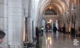 Thế giới 24h - Video: Đấu súng dữ dội bên trong tòa nhà Quốc hội Canada