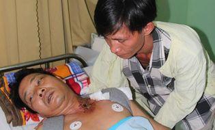 Miền Nam - Mỏ đá nổ mìn khai thác, một người dân nhập viện