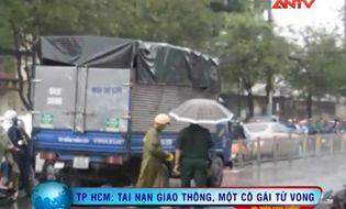 Xã hội - Clip: Ngã vào gầm xe tải, thiếu nữ tử vong tại chỗ