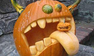 Giới trẻ - Cười nghiêng ngả với hình ảnh Halloween siêu hài hước