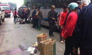 Sự kiện hàng ngày - Tuyên Quang: Xe máy đấu đầu ô tô, 2 người tử vong tại chỗ