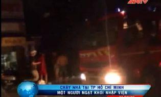 Bản Tin 113 - Video: Nam thanh niên ngạt khói trong căn nhà bốc cháy giữa đêm