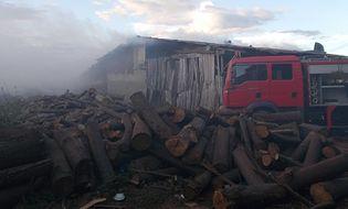 Tây Nguyên - Cháy lớn tại nhà máy sấy gỗ suốt 3 giờ