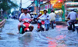 Sự kiện hàng ngày - Thời tiết ngày 24/11: Cảnh báo mưa lớn và triều cường tại Nam Bộ