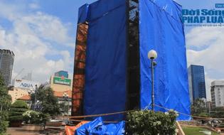 Xã hội - Hai tượng gắn liền với Sài Gòn di dời với kinh phí hơn 3 tỷ đồng