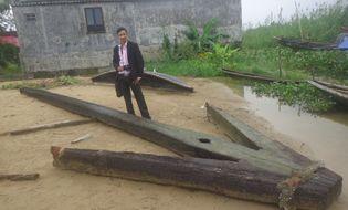 Sự kiện hàng ngày - Mỏ neo khổng lồ đã đưa vào bảo tàng tỉnh Thừa Thiên Huế