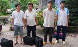 Tin pháp luật - Thanh Hóa: Bắt 4 đối tượng trốn lệnh truy nã về quy án
