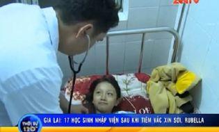 Bản Tin 113 - Video: 17 học sinh nhập viện cấp cứu sau khi tiêm vắc-xin