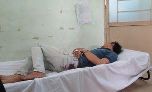 An ninh - Hình sự - Trinh sát rượt đuổi, nổ súng hạ gục hai tên cướp ở Sài Gòn