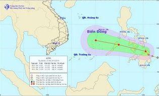 Sự kiện hàng ngày - Xuất hiện áp thấp nhiệt đới gần Biển Đông