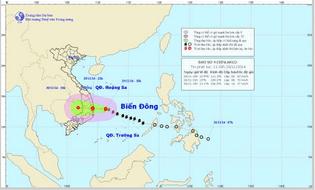 Sự kiện hàng ngày - Tin tức mới nhất về bão số 4 trên biển Đông