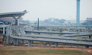 Sự kiện hàng ngày - Hình ảnh nhà ga T2 Nội Bài trước ngày khai trương