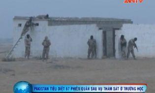 Bản Tin 113 - Video: Pakistan tiêu diệt 67 phiến quân sau vụ thảm sát ở trường học