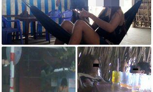 Xã hội - Bóc mẽ chiêu câu khách, chèo kéo bán dâm ở quán cà phê trá hình