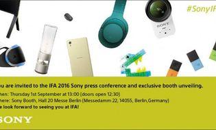 """Sản phẩm số - Sony hé lộ loạt sản phẩm """"hàng độc"""" sắp ra mắt tại IFA 2016"""