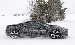 """Thế giới Xe - """"Chiến mã"""" BMW i8 Spyder xuất hiện trên đường thử"""