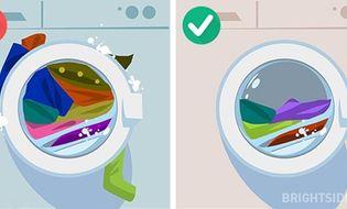 Gia đình - Tình yêu - Những sai lầm phổ biến khi sử dụng máy giặt mà bạn nên biết