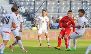 Bóng đá - U.23 Việt Nam thắng đậm Myanmar: Quang Hải tỏa sáng
