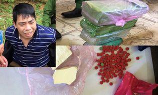 An ninh - Hình sự - Thanh Hóa: Bắt giữ đối tượng vận chuyển 6000 viên hồng phiến
