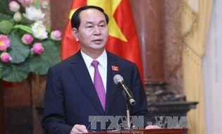 Tin trong nước - Chủ tịch nước Trần Đại Quang làm hết sức mình phục vụ Tổ quốc, phục vụ nhân dân