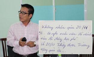 Chuyện học đường - Ngày Nhà giáo Việt Nam  20/11: Giáo viên, hoa tươi và phong bì…
