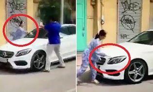 Tình huống pháp luật - Người phụ nữ đập nát xe Mercedes đỗ trước cửa nhà ở TP.HCM đối diện hình phạt nào?