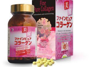 Sản phẩm - Dịch vụ - Fine Pure Collagen chống nhăn giúp trắng sáng da hiệu quả