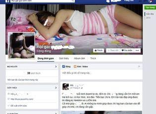 Xã hội - Thâm nhập chốn 'lầu xanh' ngập tràn trên Facebook