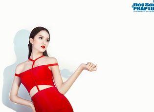 Ngôi Sao - Hương Giang Idol lung linh sắc đỏ quyến rũ