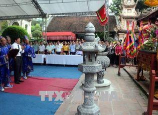 Tin tức - Nghệ An: Thành kính dâng hương tưởng nhớ công ơn các Vua Hùng