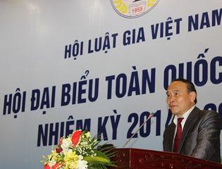 Hội Luật Gia - Ông Nguyễn Văn Quyền giữ chức Chủ tịch Hội Luật gia VN khóa XII
