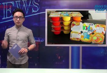 Bản tin đời sống và pháp luật - Bản tin Vì người tiêu dùng: Hoang mang nghi vấn sữa chua Kidsmix bị