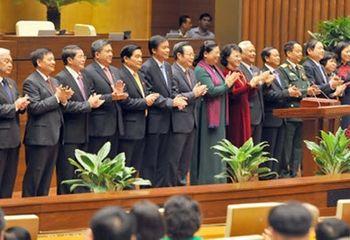 Tin trong nước - Chính thức ra mắt bộ máy lãnh đạo cao nhất của Quốc hội khóa XIV