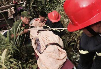 Tin tức - Nạn nhân may mắn sống sót vụ lật xe khách ở Cao Bằng:
