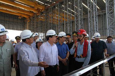 Phó Thủ tướng Trịnh Đình Dũng kiểm tra Formosa trước khi vận hành lò cao số 2 - ảnh 1