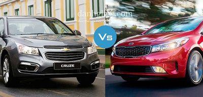 Cân nhắc chọn Chevrolet Cruze 2018 hay KIA Cerato 2018 để phục vụ gia đình - ảnh 1