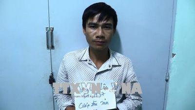 Bình Dương: Bắt tội phạm truy nã về tội cướp tiệm vàng 2 năm trước - ảnh 1